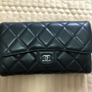 Chanel classic flap wallet Lambskin C25100613